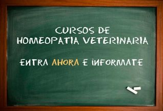 Curso Homeopatia Veterinaria